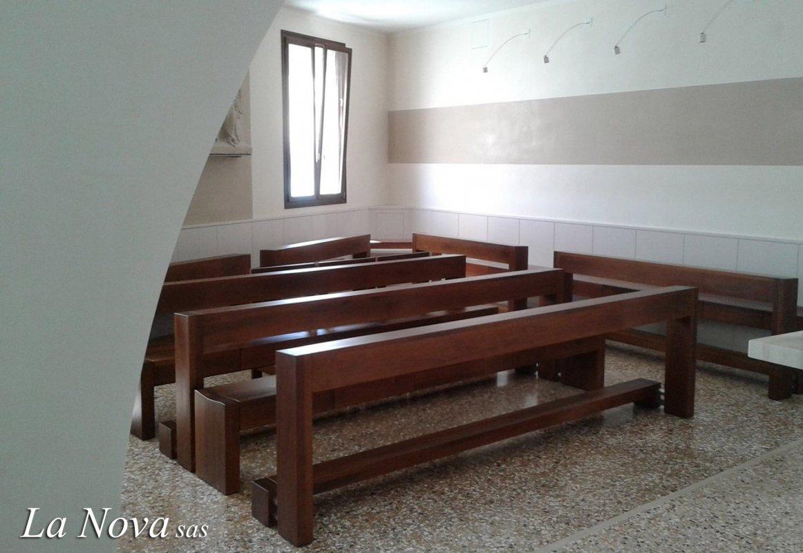 Cappellina seminaristi arredamento sacro per chiese la for Arredo sacro