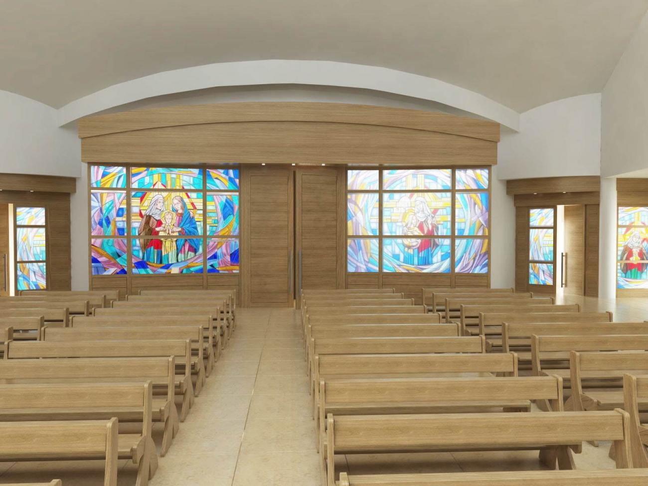 Bussola antiporta rapallo porte e bussole per chiesa in for Arredamento da esterno moderno