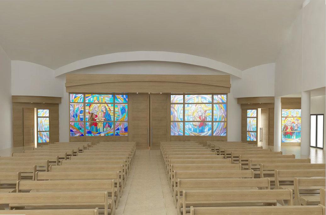 Progettazione arredamento sacro per chiese progettazione for Arredo chiesa